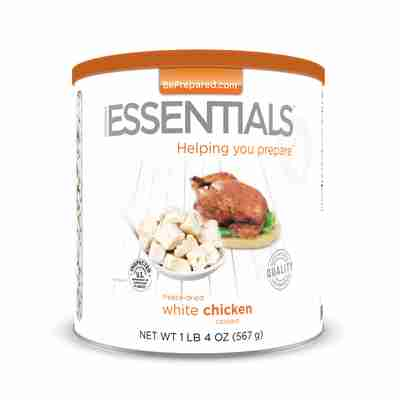 EE Freeze-Dried Cooked White Chicken Large Can