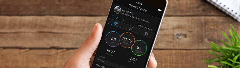See your Stats on Garmin Connect app