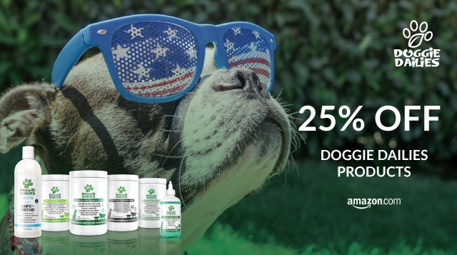 Doggie Dailies Memorial Day Sale