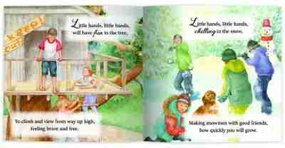 Little Hands Internal Book Page