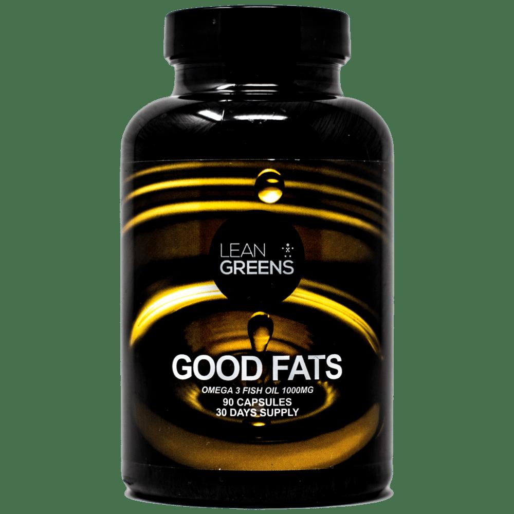 Omega 3 Fish Oils - Good Fats #Omega3 #LeanGreens