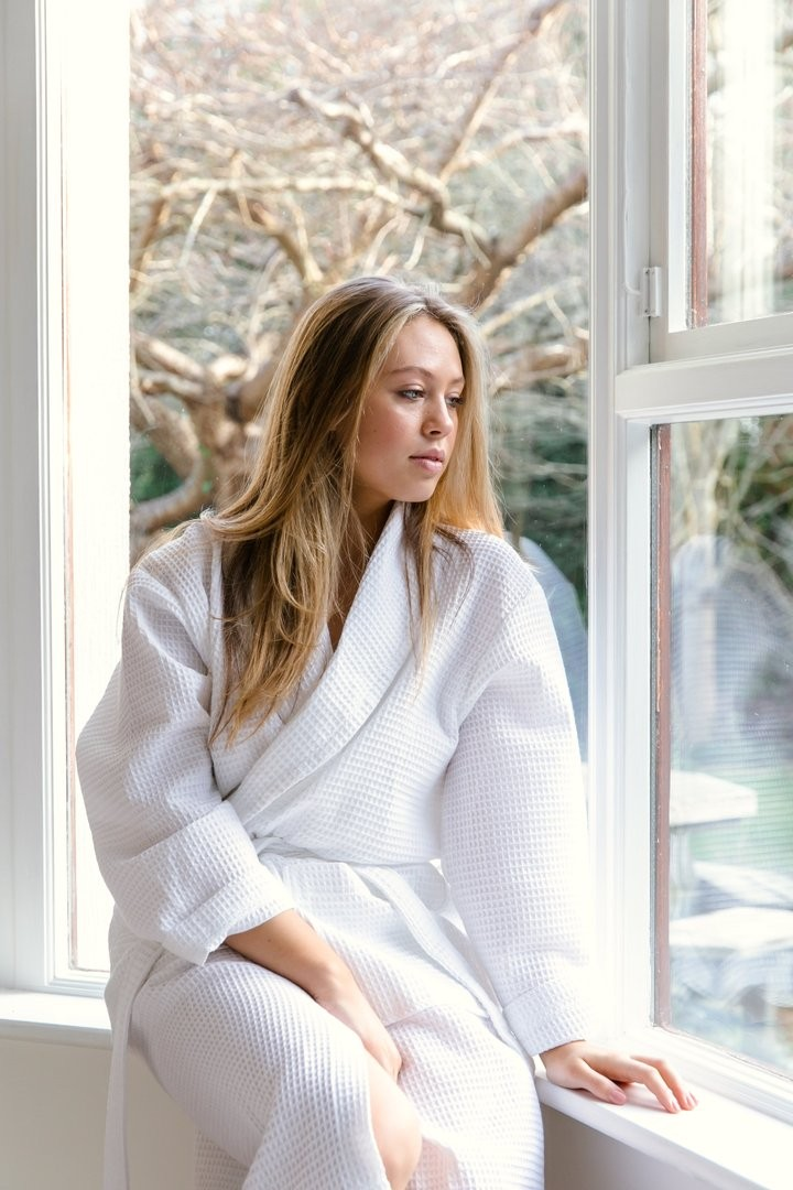 Organic Cotton Dressing Gown