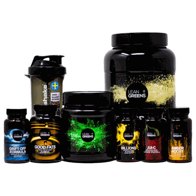 Premium supplements from Lean Greens