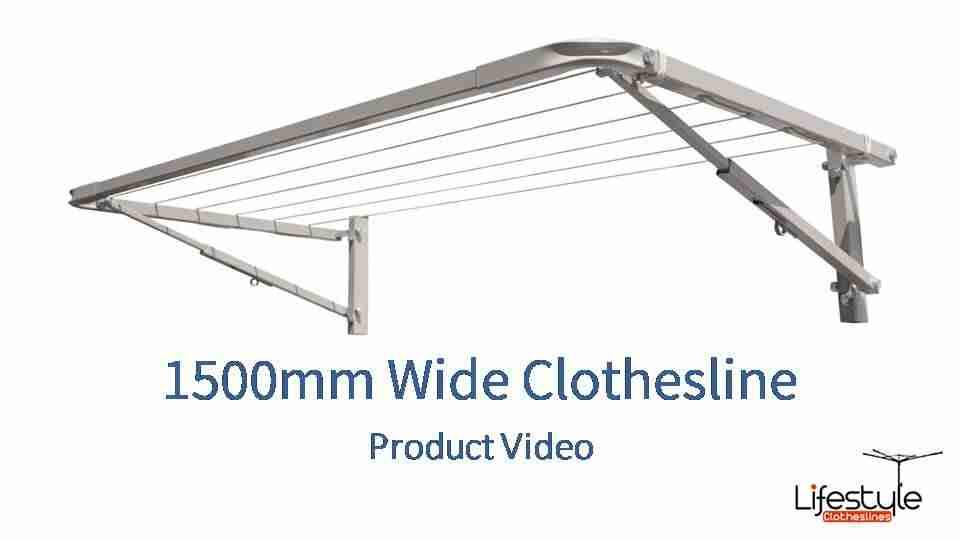1500mm wide clothesline product link