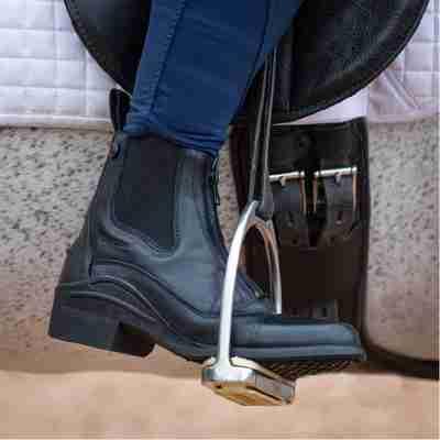 Idaho Jodhpur boots in black