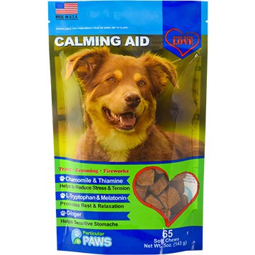 Calming Aid Treats for Dogs