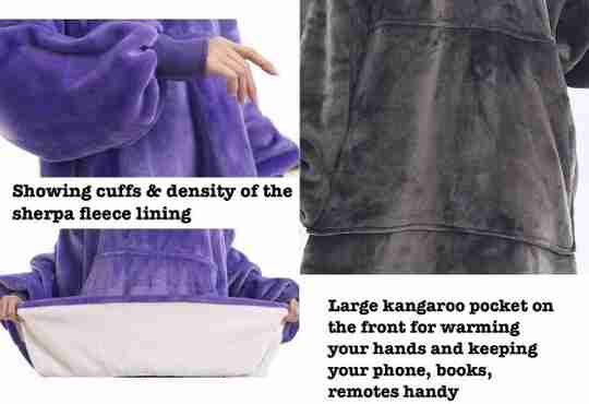 features of The Marshmallow Blanket Hoodie designed for an Australian winter