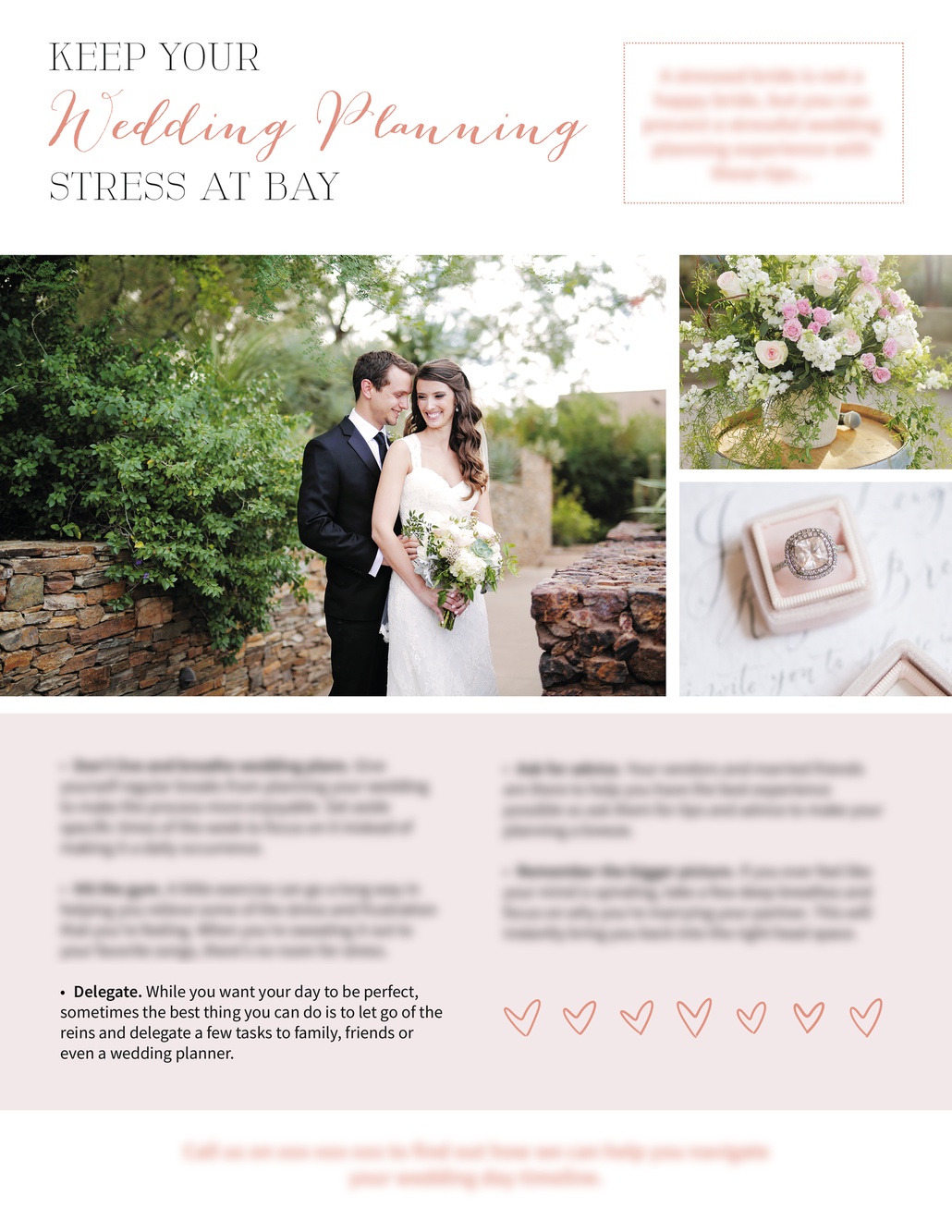 Wedding Photography Newsletter Template