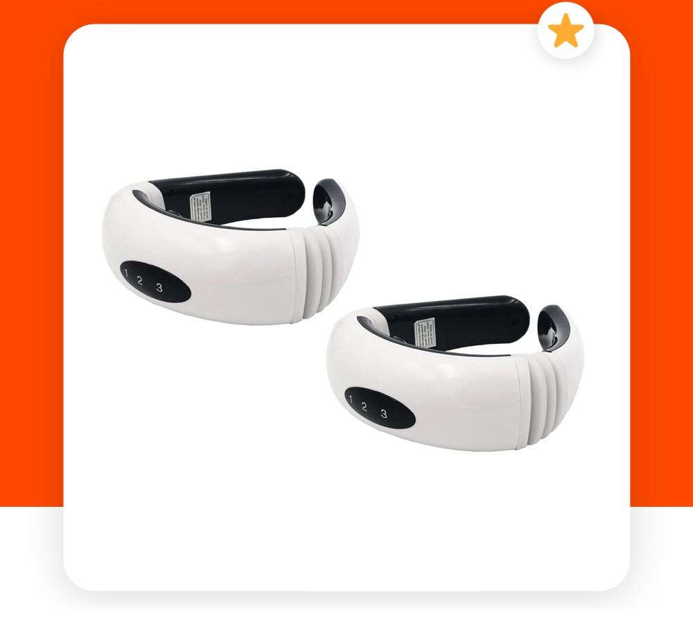 Συσκευή Μασάζ και Ηλεκτροθεραπείας Αυχένα HX-5880