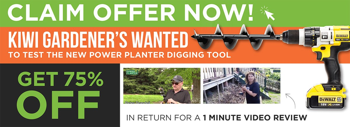 Claim offer and find out how to make a video review of your Power Planter