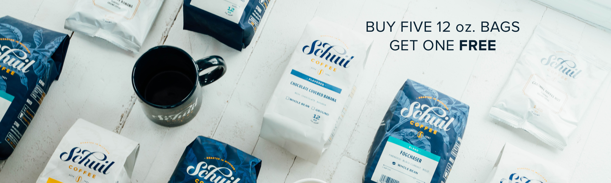 Schuil Coffee Buy Five Get One Free