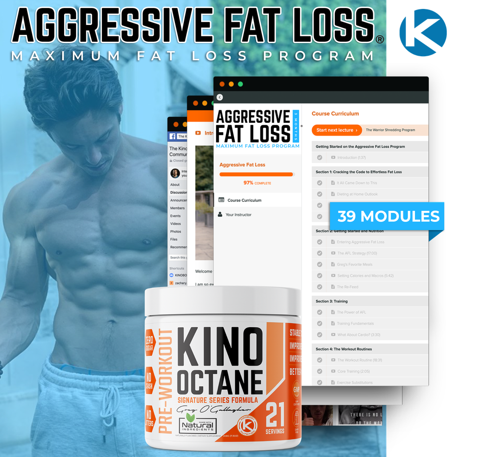 Aggressive Fat Loss Program with 1 Octane