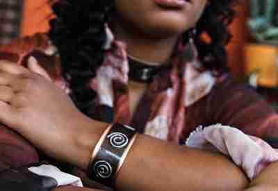 Cuff Bracelet creations by Junebug Jewelry Designs