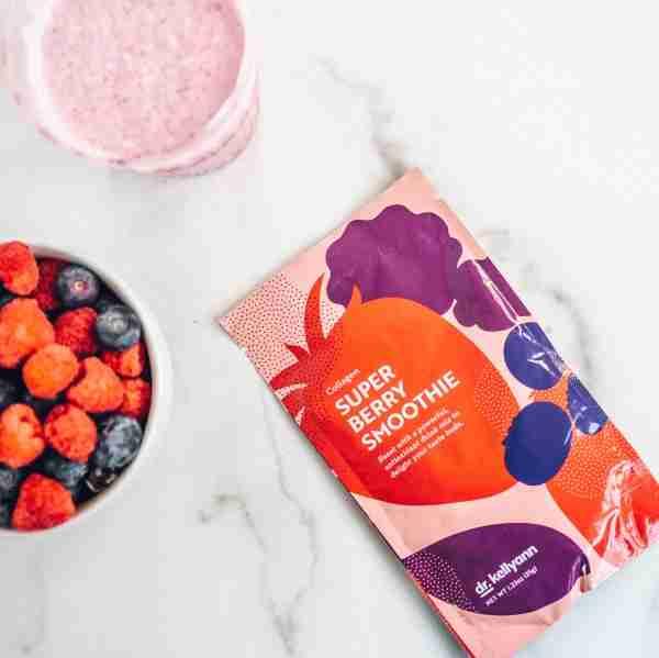 Dr. Kellyann super berry smoothie