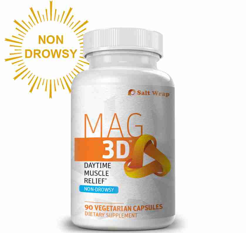 Mag 3D natural muscle relaxer non-drowsy