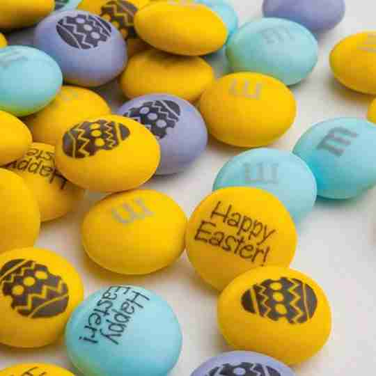 Customized Easter M&Ms