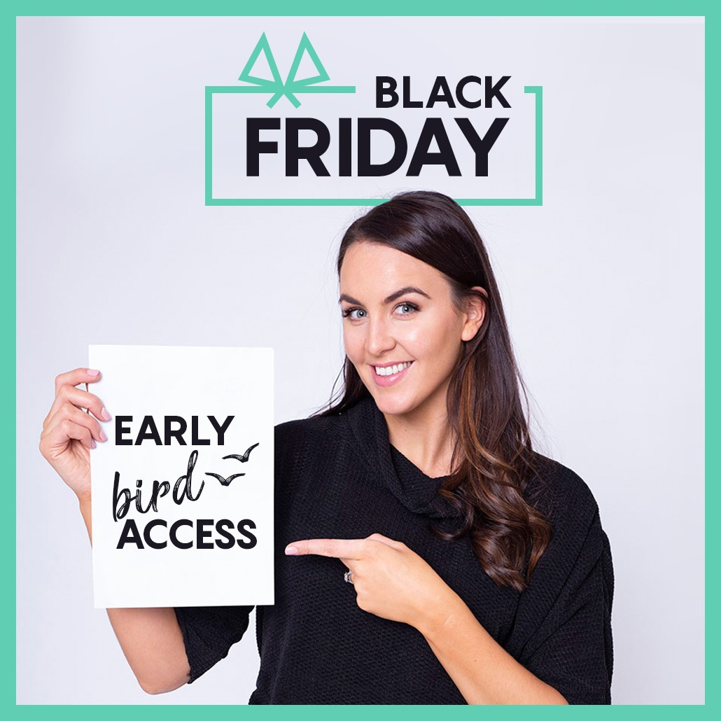 Black Friday Early Bird Access Landing Page