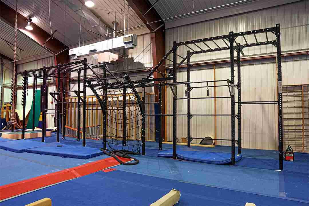 PRx Assassin Ninja Rig 42 feet long, 12 feet tall, great for ninja training and strength training