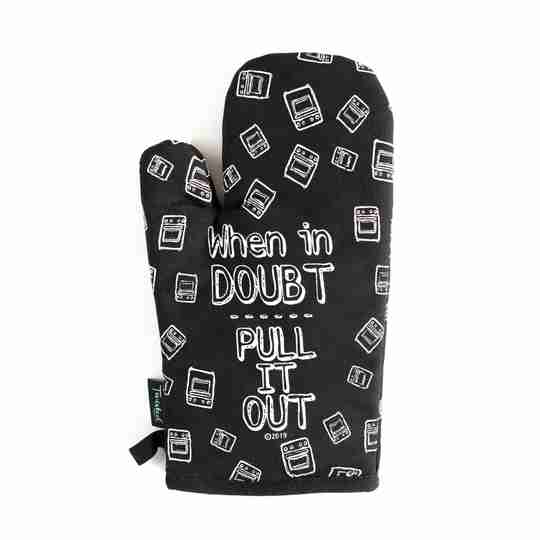 Punny Oven Mitt   Twisted Wares®