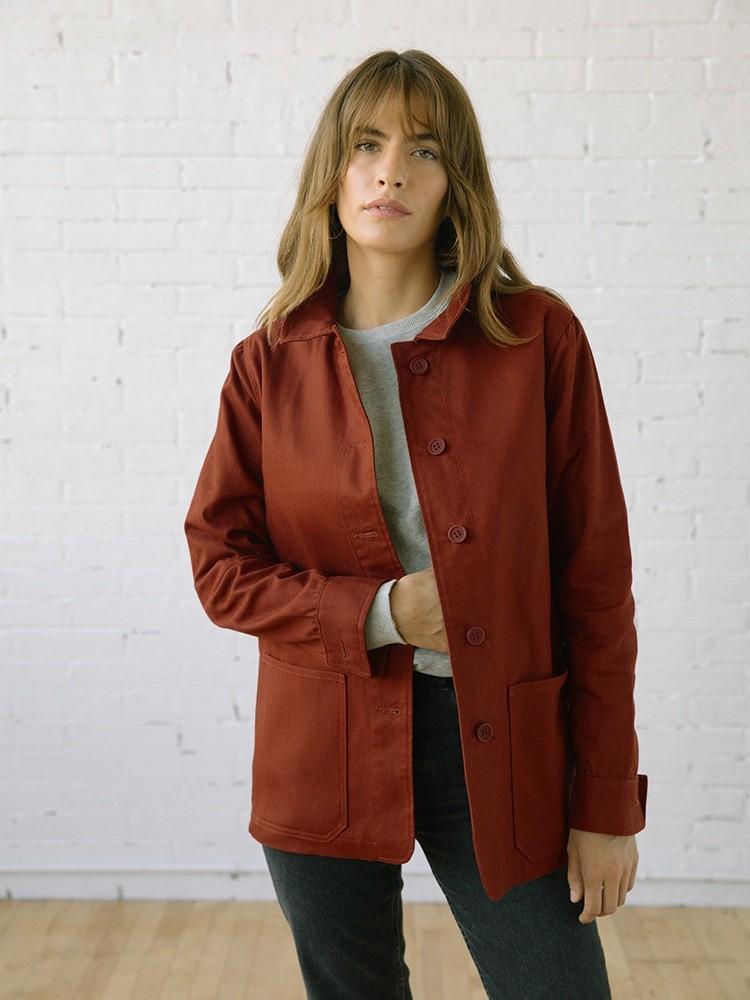Beverly Chore Coat Sepia