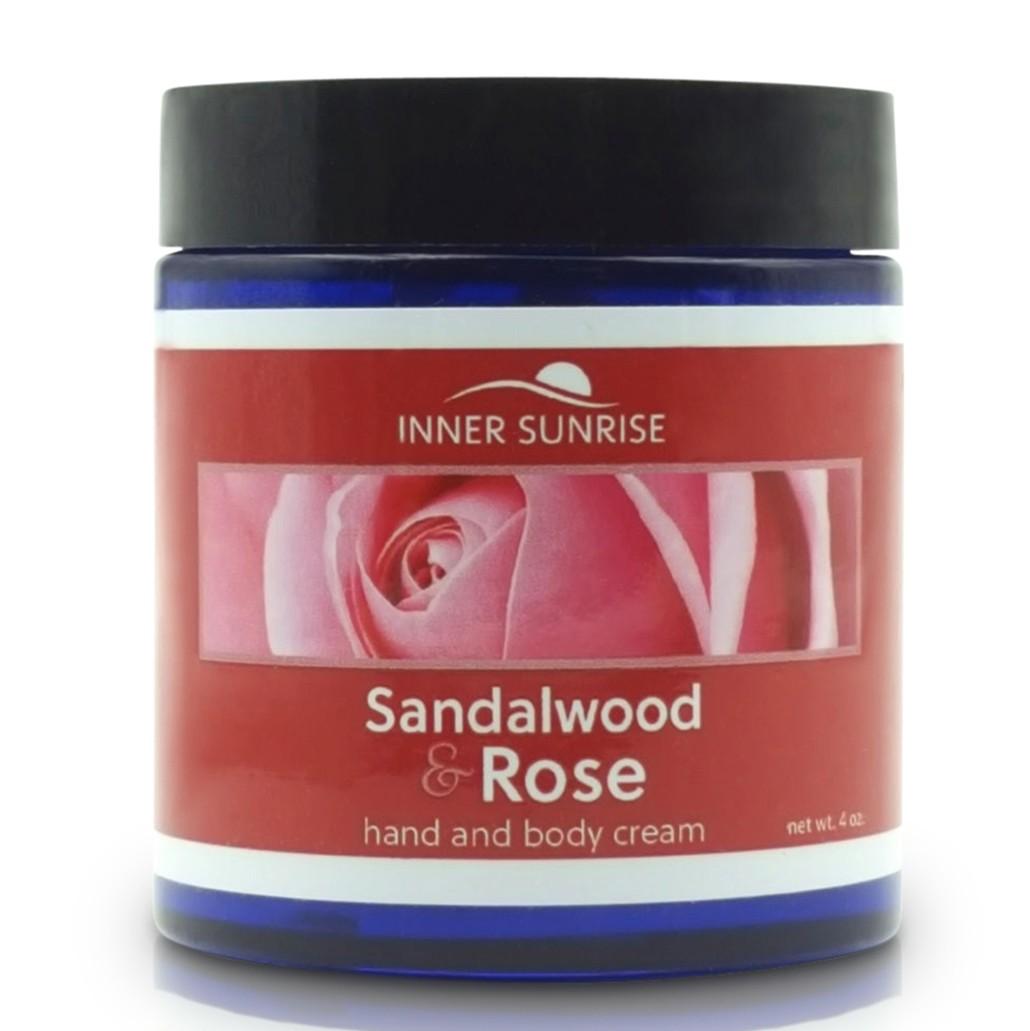 Sandalwood & Rose Hand and Body Cream