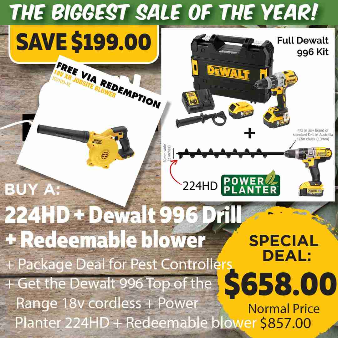 Green Friday Super Deal $857 value for just $658 - The biggest sale of the year.