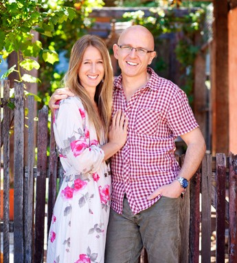 Brian and Kaylene Chapman - Power Planter owners - True Blue Aussie Gardener