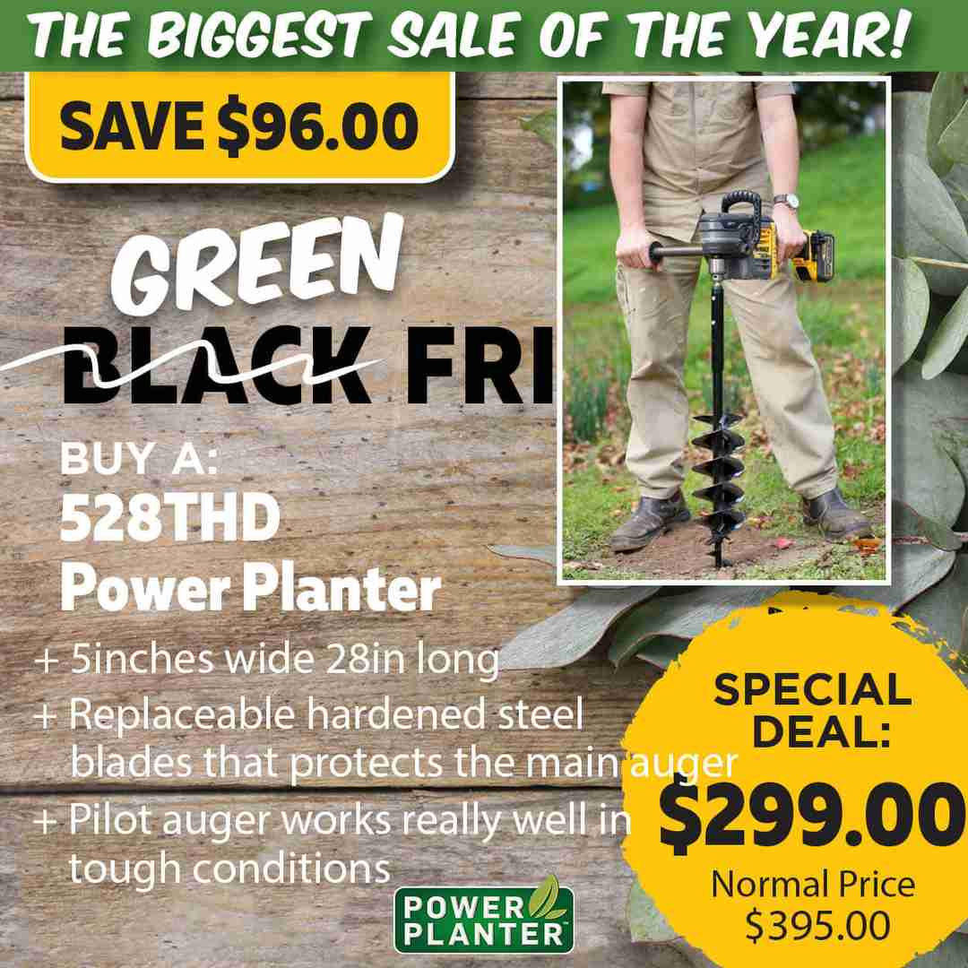 Green Friday Super Deal $395 value for just $299 - The biggest sale of the year.