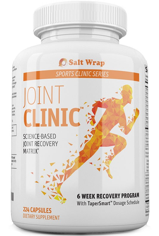 Joint Clinic ingredients and reviews SaltWrap injury recovery supplements