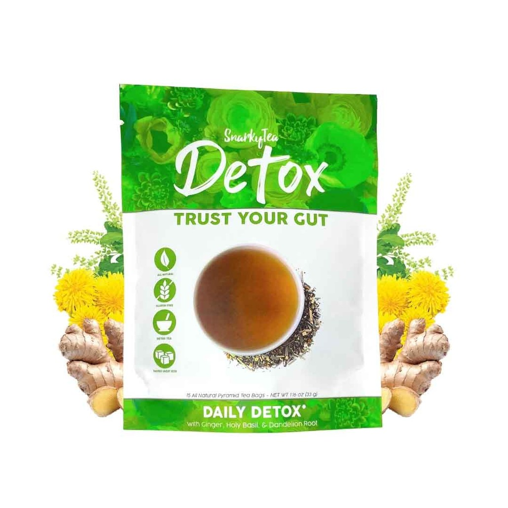 Trust Your Gut - Detoxifying Tea