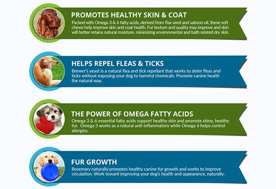 Salmon Oil Treats for Dogs - ingredients
