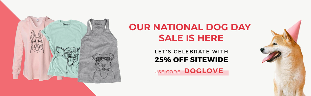 Inkopious - National Dog Day 25% Off Sitewide