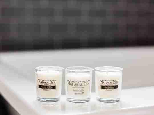 All Natural 1.5 Oz. Votives - Mini Jar Candles