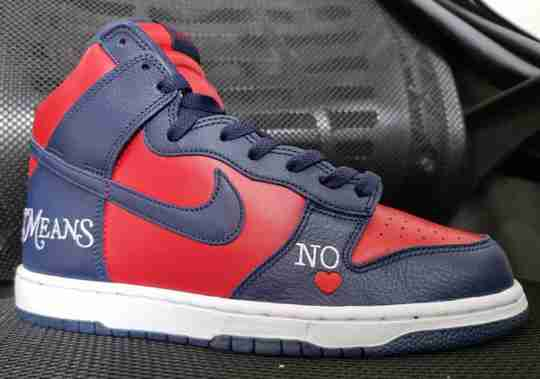 Supreme x Nike SB Dunk By Any Means