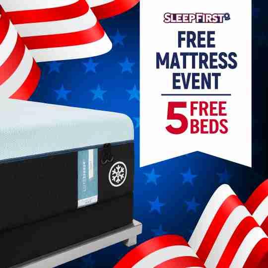 Sleep First Free Mattress Event