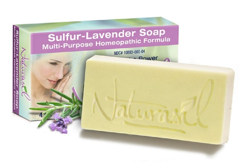 Sulfur Lavender Soap - 4oz Bar
