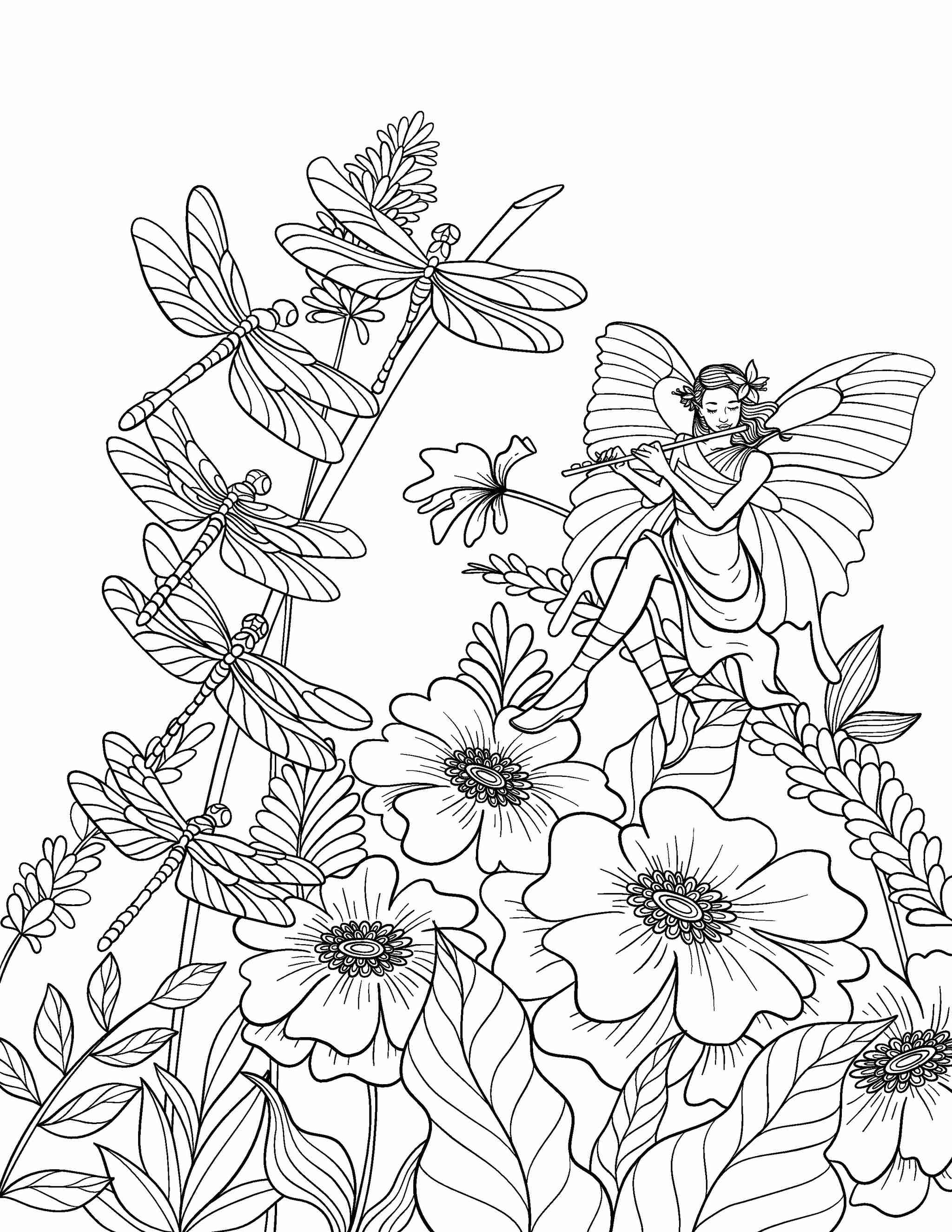 ColorIt Freebie Friday Dragonfly 2021-01-29