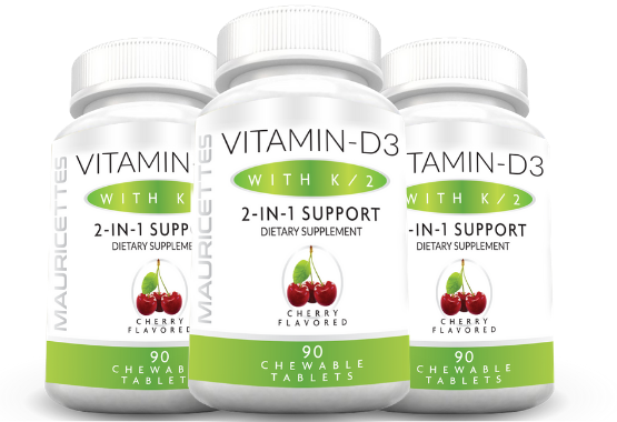 Best vitamin d3 and k2 supplement 3 pack