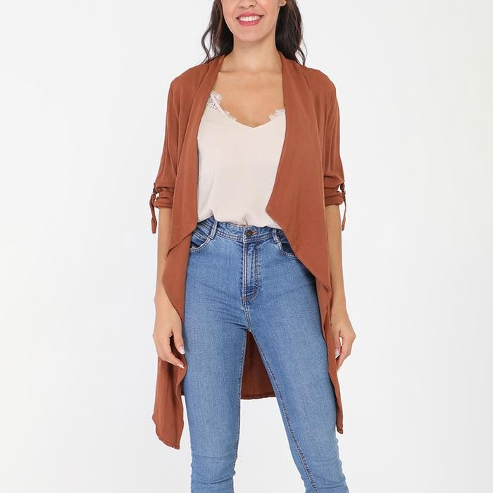 Bobby Waterfall Blazer Rust