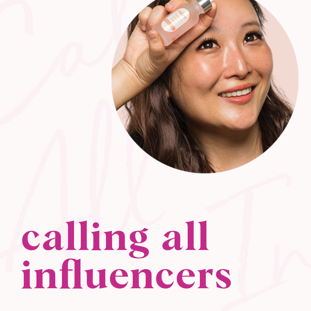 calling all brand influencers | Caire Beauty