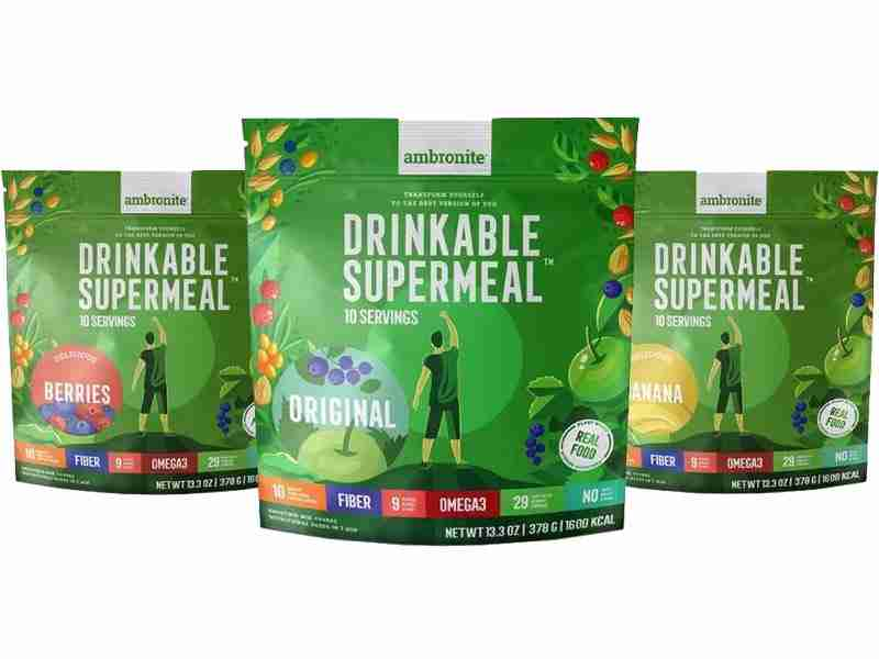 Complete Meal Shake iso pussi (4 ateriaa)