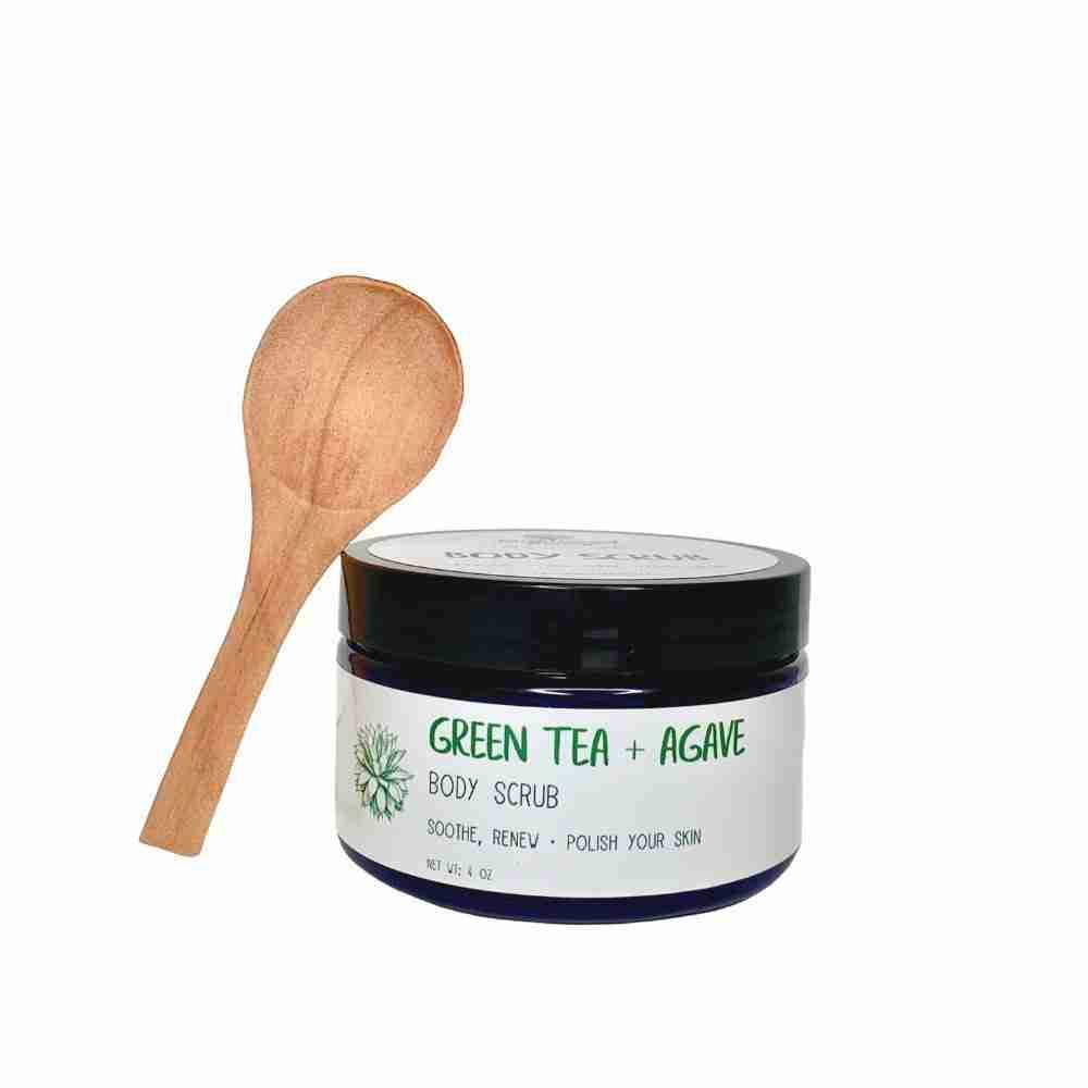 Green Tea + Agave Body Scrub
