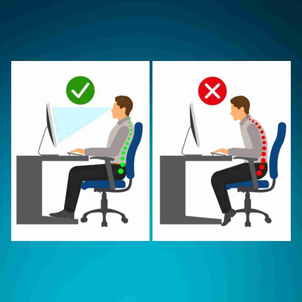 image of company ways to good posture when sitting