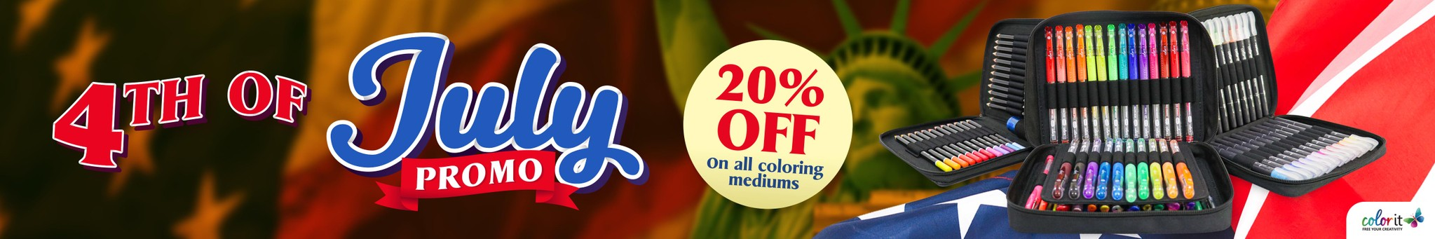 ColorIt's Independence Day Sale