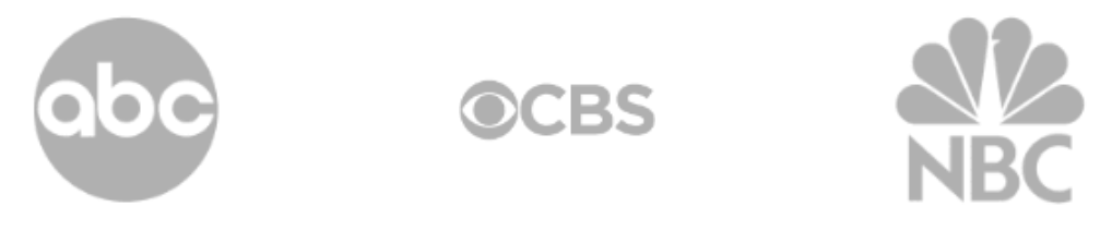 ABC, CBS, NBC