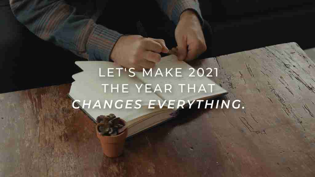 2021 Prayer Journal