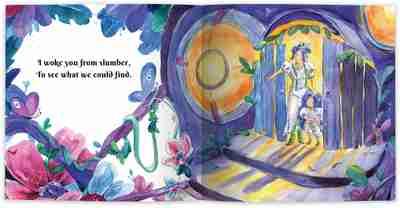 Moon Walk Internal Book Page