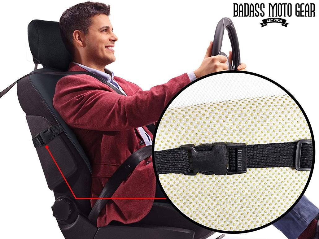 Badass Moto Premium Waterproof Car Seat Protector