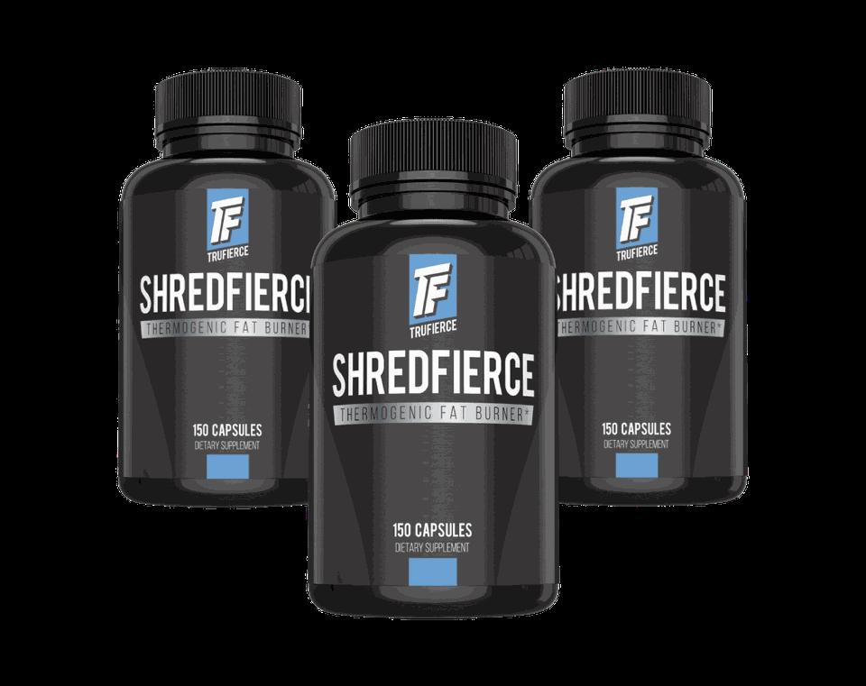 three bottle shredfierce package deal