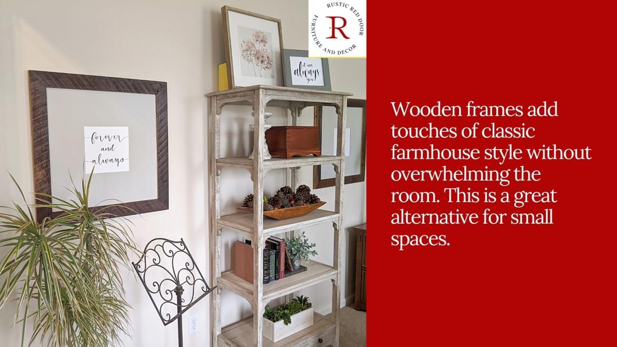 Wooden Frame Decor Ideas